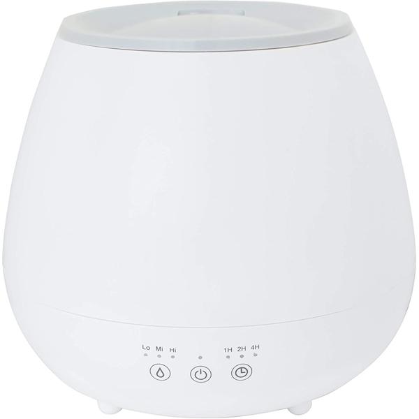 山善 MZ‐M15(W) 超音波 ミスト式 加湿器 4‐7畳 ホワイト