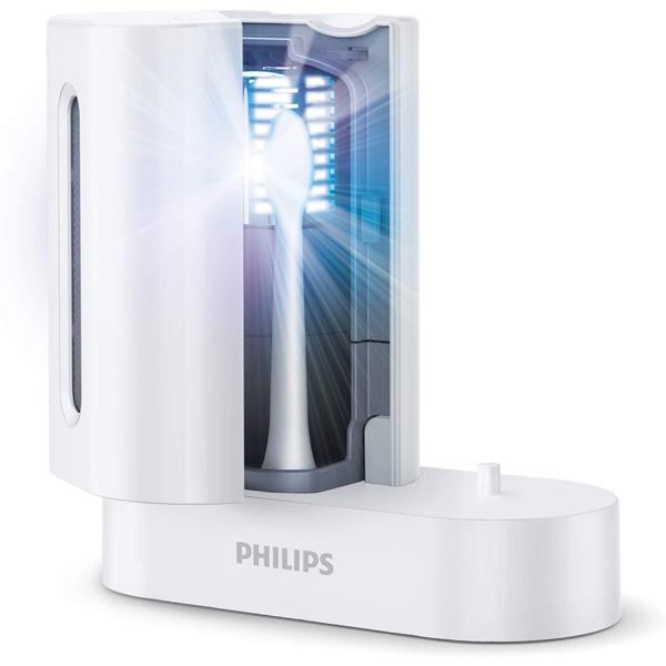 フィリップス Sonicare UV Sanitizer ソニッケアー 充電機能付き 紫外線除菌器 HX6907/01 ホワイト