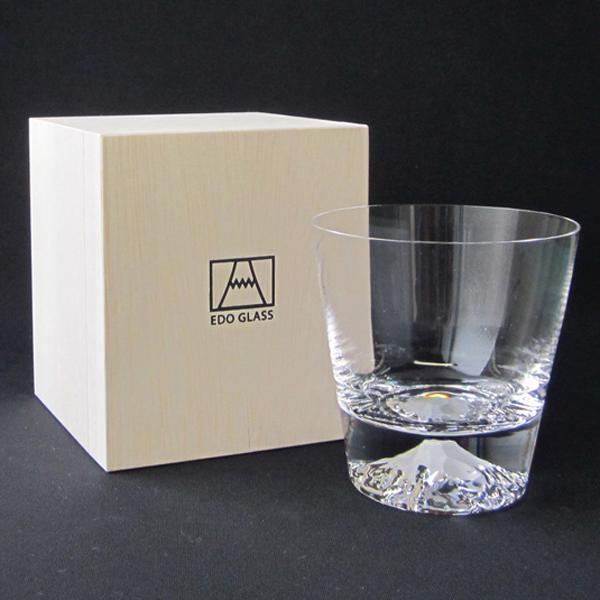 田島硝子富士山グラスロックグラスTG15-015-R【富士山グラス/Mt.FujiGlass】TAJIMAGLASS