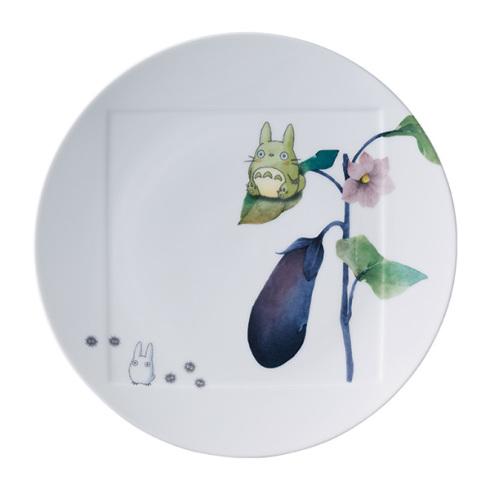 ノリタケとなりのトトロ野菜シリーズ27cmプレート(ナスVT9930A/1704-1NoritakeTOTORO