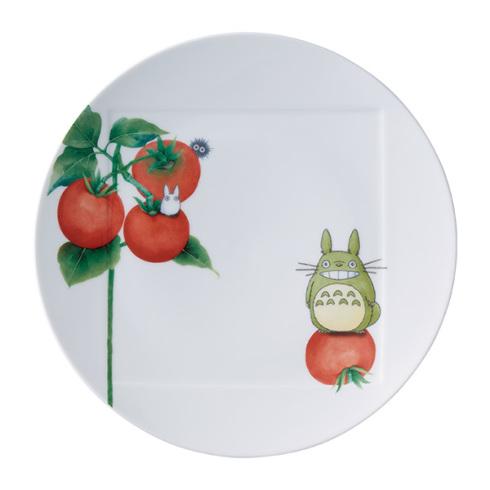 ノリタケとなりのトトロ野菜シリーズ27cmプレート(トマトVT9930A/1704-2NoritakeTOTORO