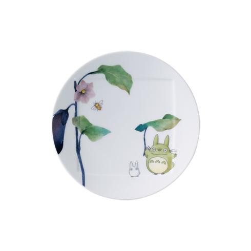ノリタケとなりのトトロ野菜シリーズ15.5cmプレート(ナスVT9931A/1704-1NoritakeTOTORO