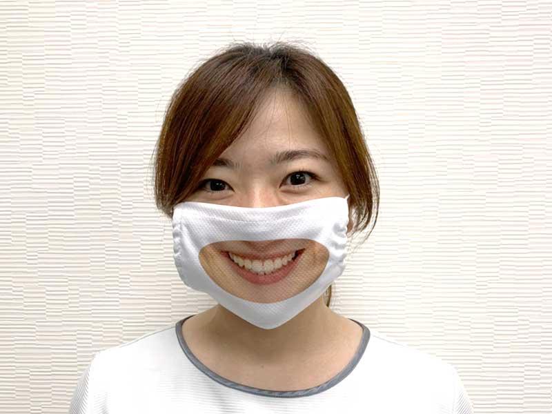 【完売御礼】多慶屋オリジナルマスクスマイルマスク女性1枚組
