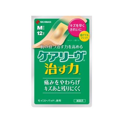 ニチバン ケアリーヴ 治す力 CN12M 【その他救急絆創膏】