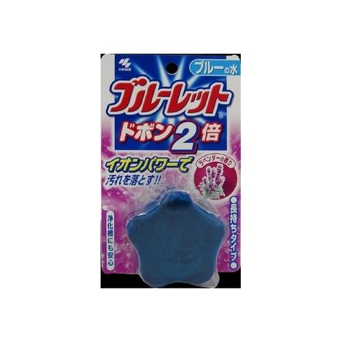 小林製薬 ブルーレット ドボン2倍ラベンダー 120g【水洗トイレ用タンククリーナー】