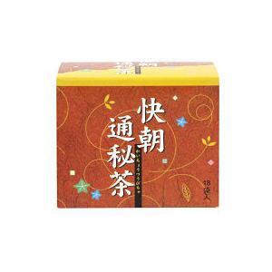 【6箱セット】昭和製薬 快朝通秘茶(かいちょうつうぴちゃ)5.0g×18袋×6箱【ノンカフェイン ウコン センナ太茎】