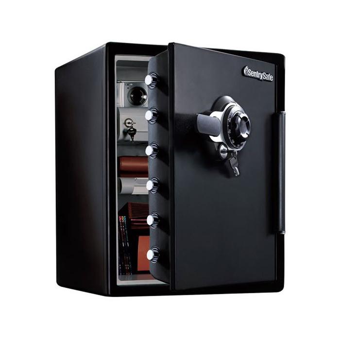 セントリー ダイヤル+鍵式 1時間耐火金庫 JFW205DG 幅472奥行491高さ603mm 56kg