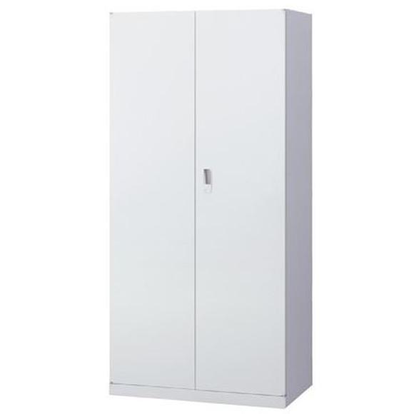 生興 A4サイズ対応両開き奥深書庫 ANW-365H ホワイト 幅880×奥行515×高さ1850mm