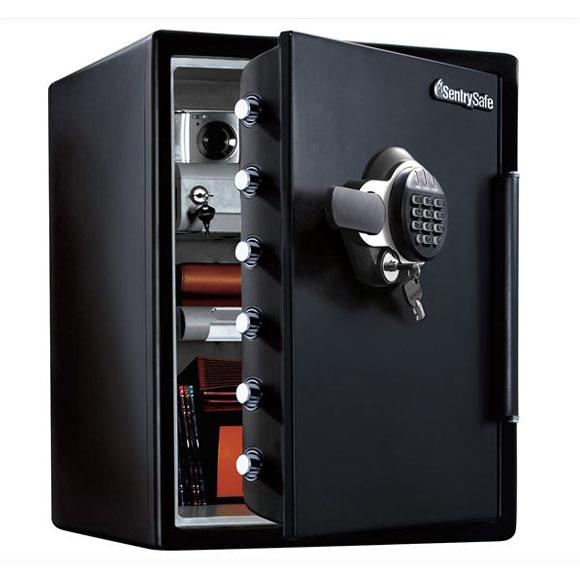 セントリー テンキー+鍵式 1時間耐火金庫 JFW205GGL 幅472奥行491高さ603mm 56kg