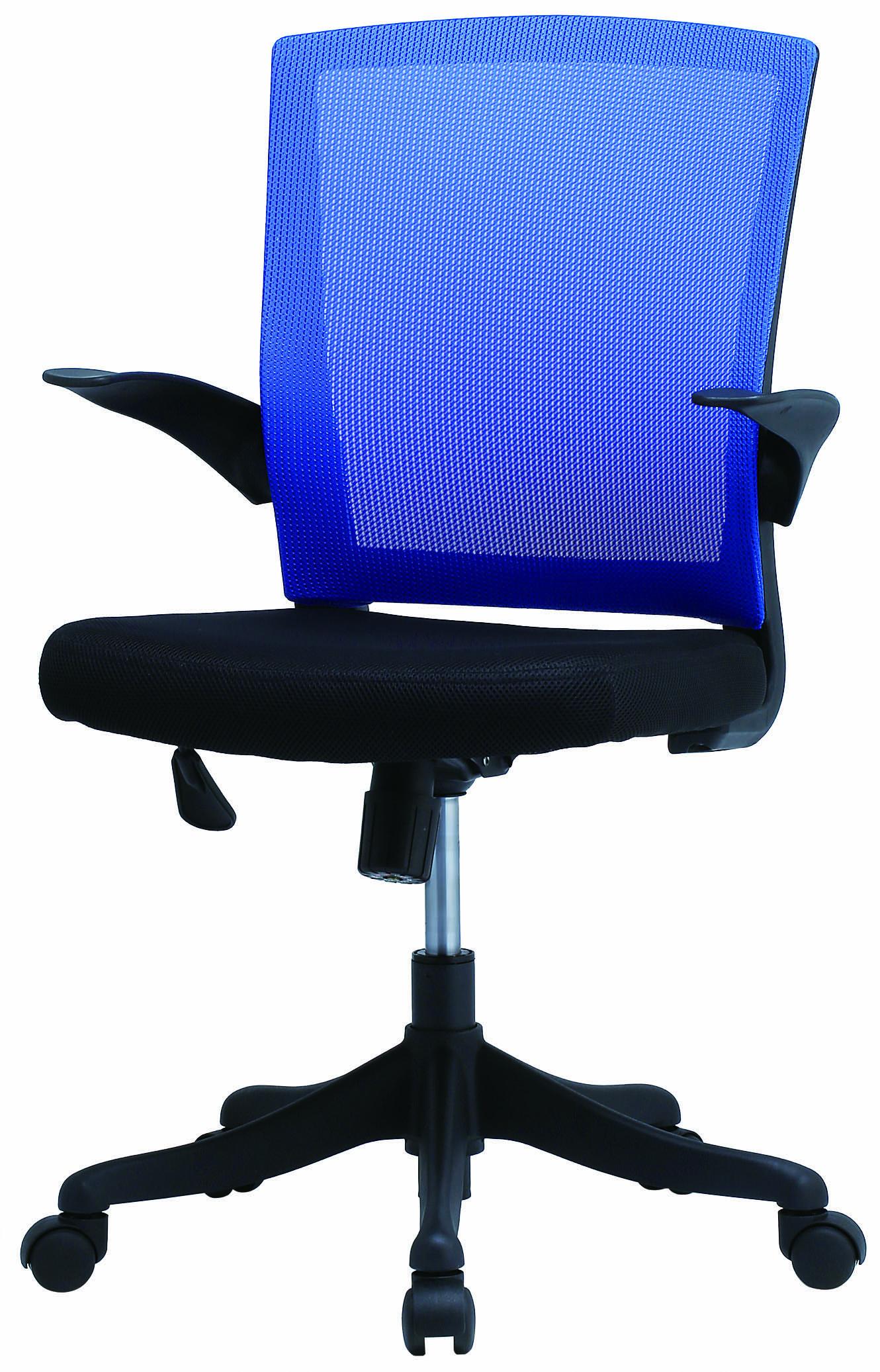 【法人様限定】【直送便】井上金庫販売回転椅子FEM-14ABLブルー