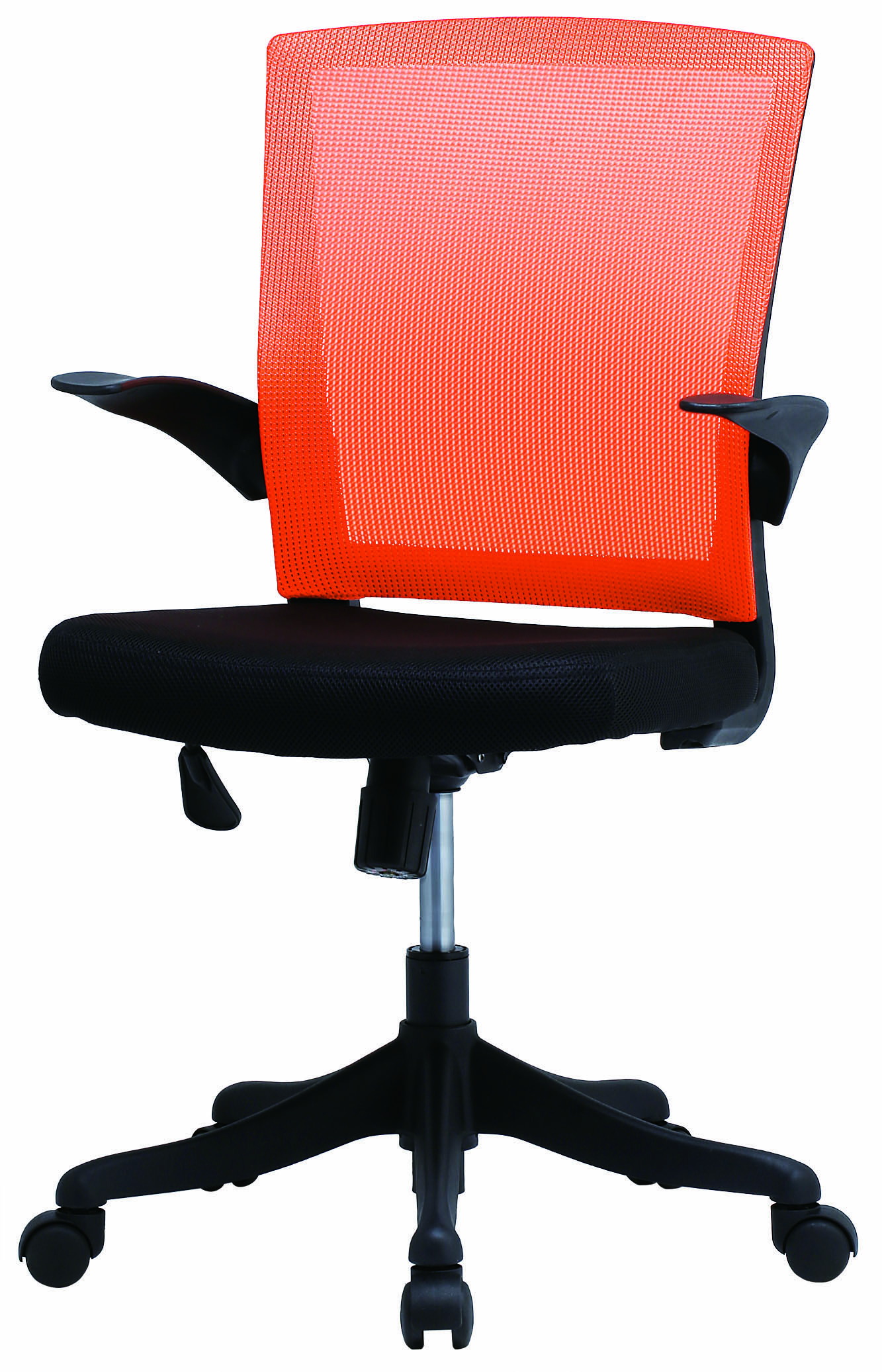 【法人様限定】【直送便】井上金庫販売回転椅子FEM-14AORオレンジ