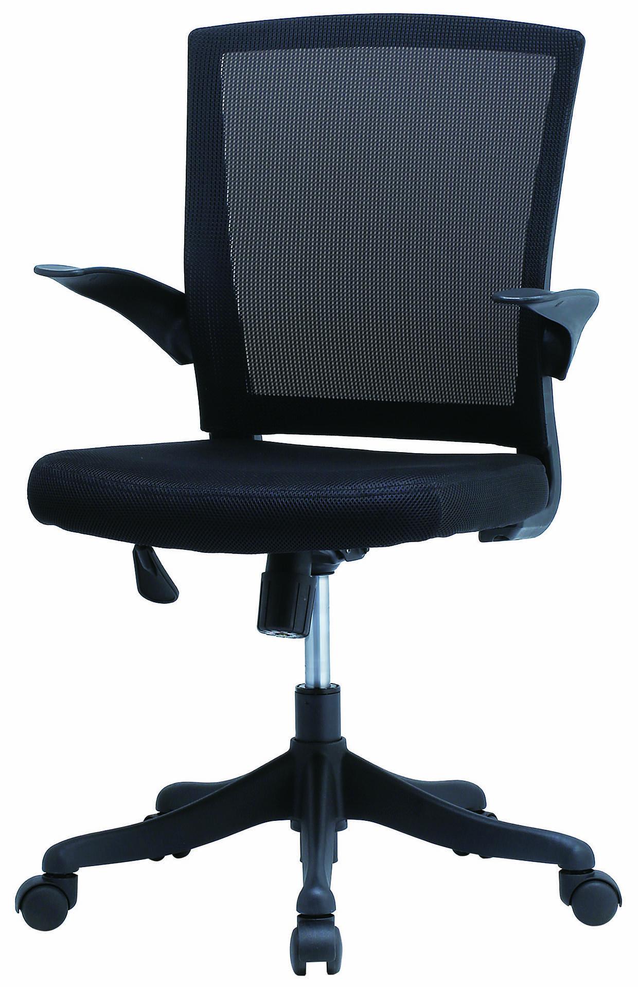 【法人様限定】【直送便】井上金庫販売回転椅子FEM-14ABKブラック