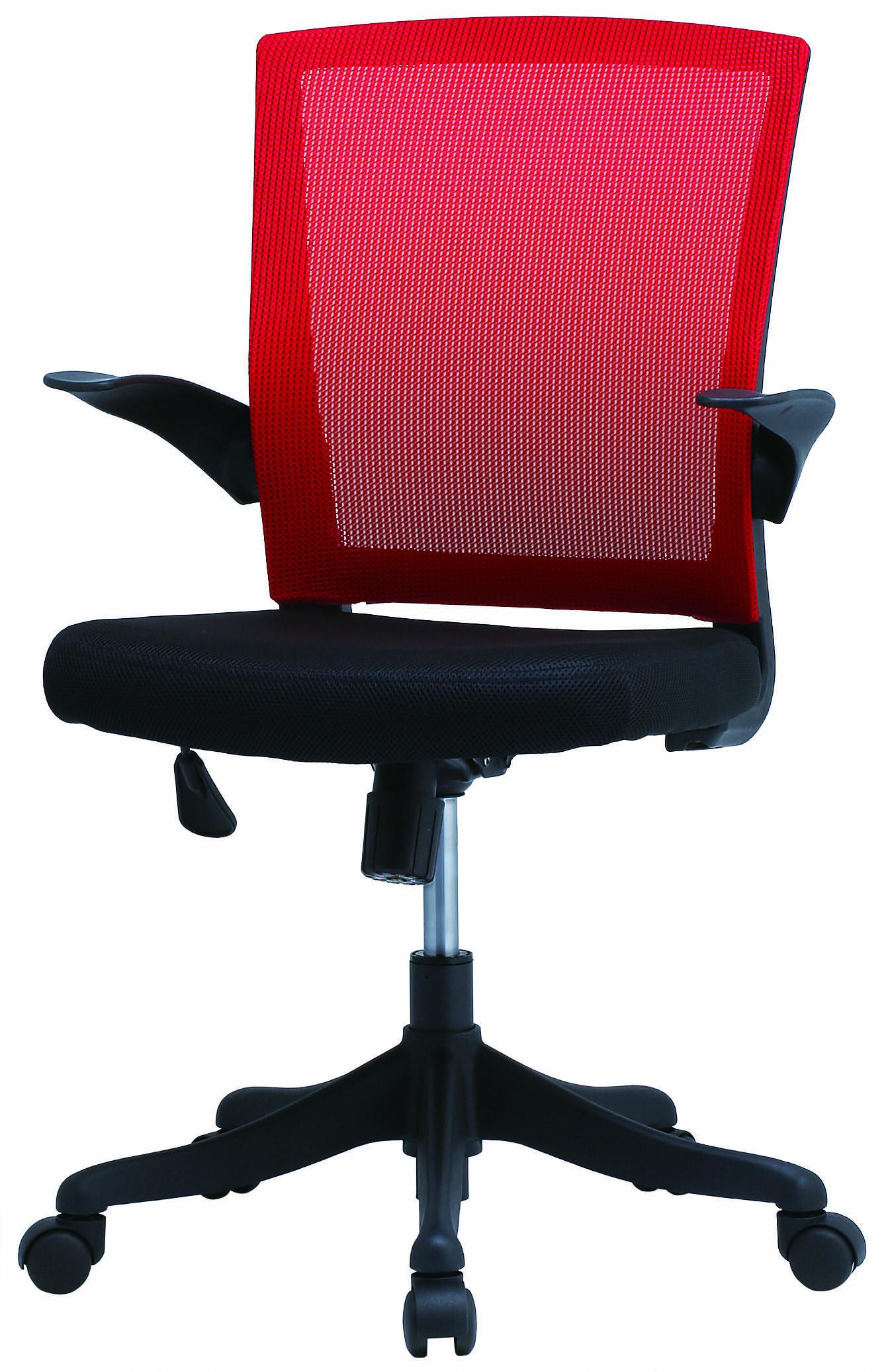 【法人様限定】【直送便】井上金庫販売回転椅子FEM-14ARDレッド