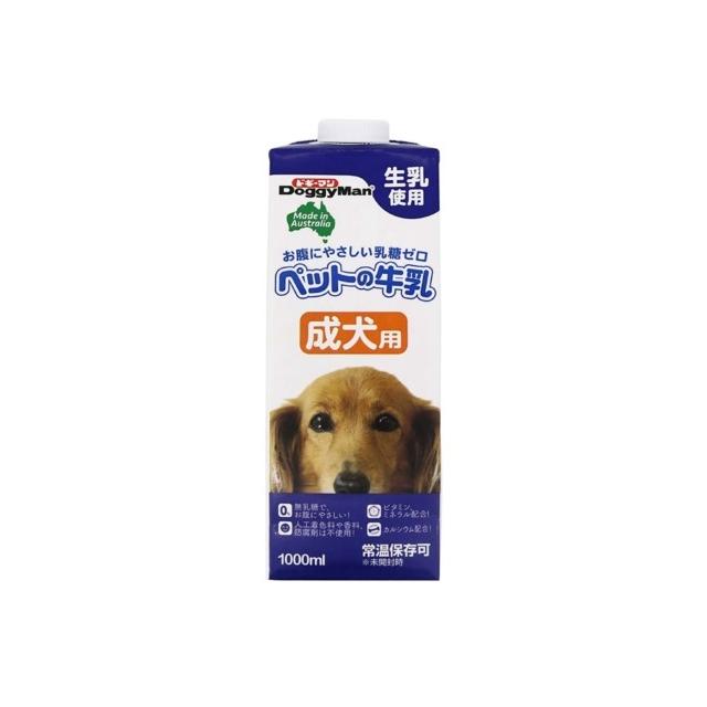 ドギーマンハヤシ ペットの牛乳 成犬用 1000ml その他犬用フード