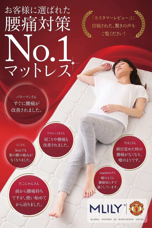 【送料無料!】MLILY トッパー エコヘルスS(シングルサイズ)