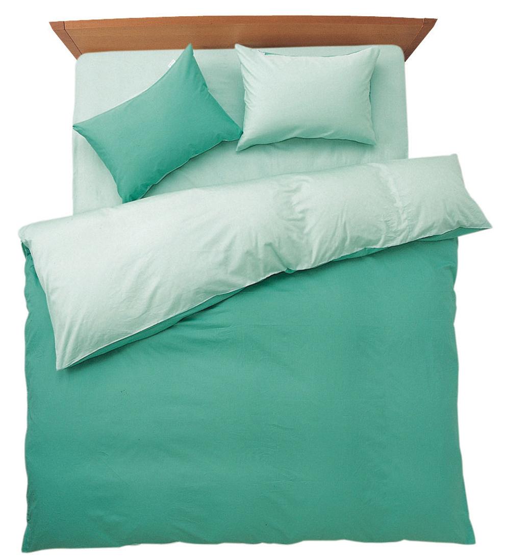 メリーナイト FROM フロムコレクション 敷布団カバー ダブルサイズ 145X215cm アップルグリーン