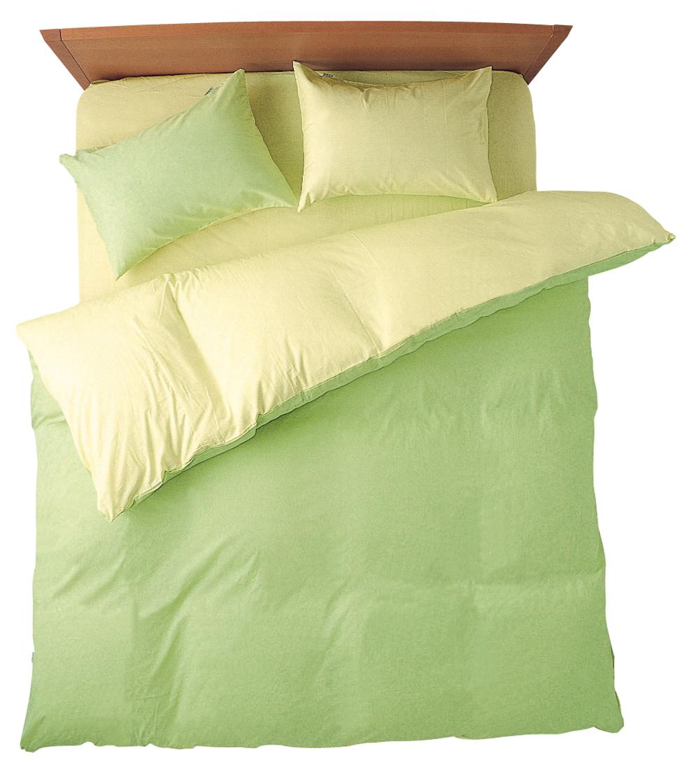 メリーナイト FROM フロムコレクション 掛布団カバー シングルサイズ 150X210cm グリーン