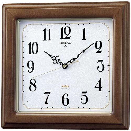 【送料無料】セイコー KS298B 電波掛時計【SEIKO 電波時計】
