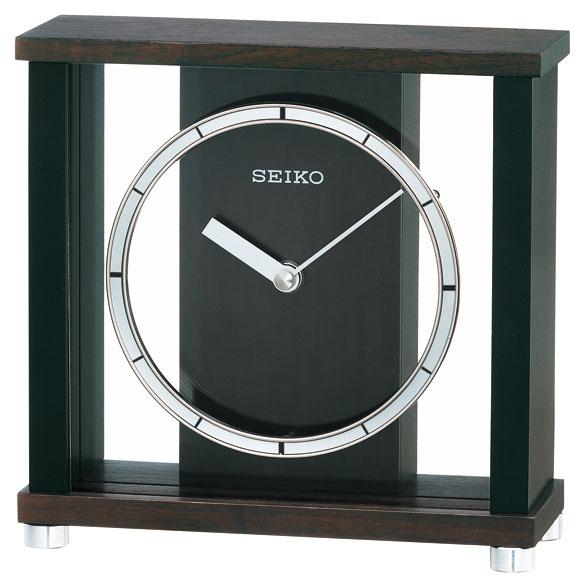セイコーBZ356B置時計【木枠SEIKO】