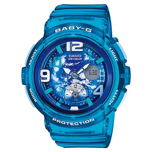 【送料無料】カシオ BGA-190GL-2BJF レディース腕時計 ベビーG【CASIO BGA190GL2BJF Baby-G】