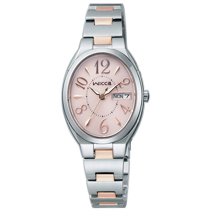 ウィッカKH3-118-93レディス腕時計【wiccaKH311893ソーラー】