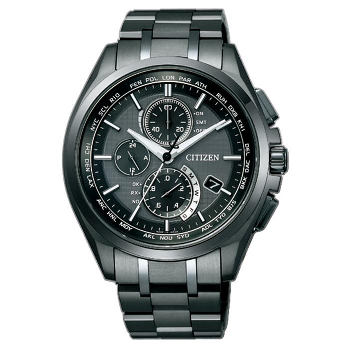 【送料無料】シチズン AT8044-56E メンズ腕時計 アテッサ【CITIZEN ATTESA AT8044-56E エコドライブ電波時計 】