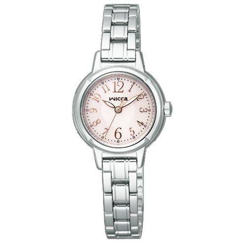 【お取り寄せ】ウィッカKH9-914-91レディース腕時計【wiccaKH991491ソーラー時計】