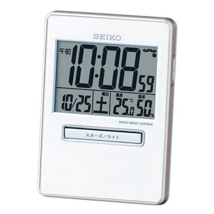 セイコーSQ699W目覚まし時計トラベラ