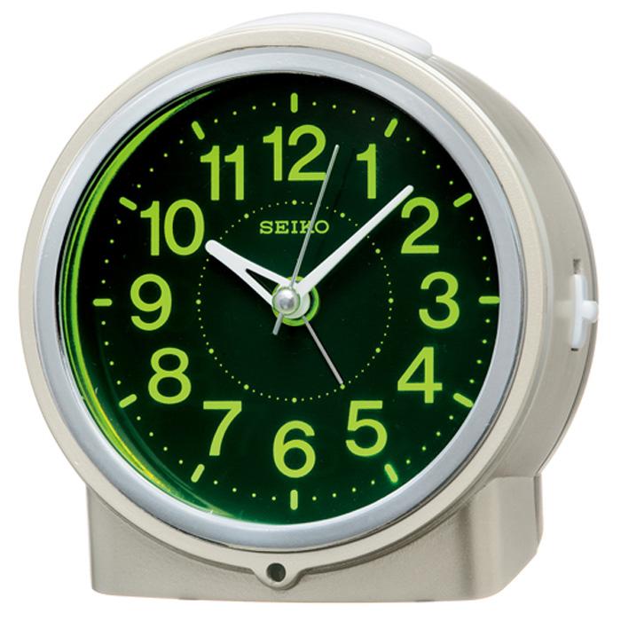 セイコーKR886G目覚まし時計夜でも見える自動点灯タイプスタンダード