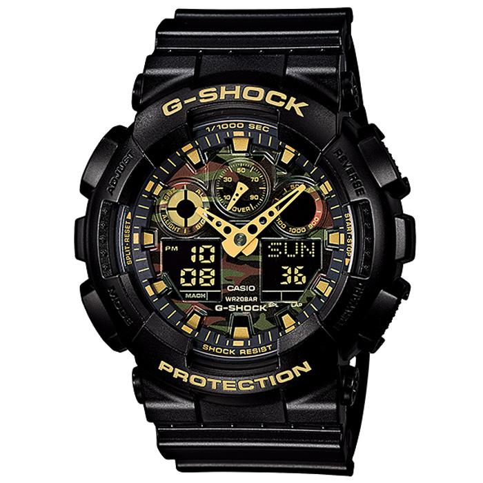 取寄品 【送料無料!】カシオ GA-100CF-1A9JF メンズ腕時計 Gショック