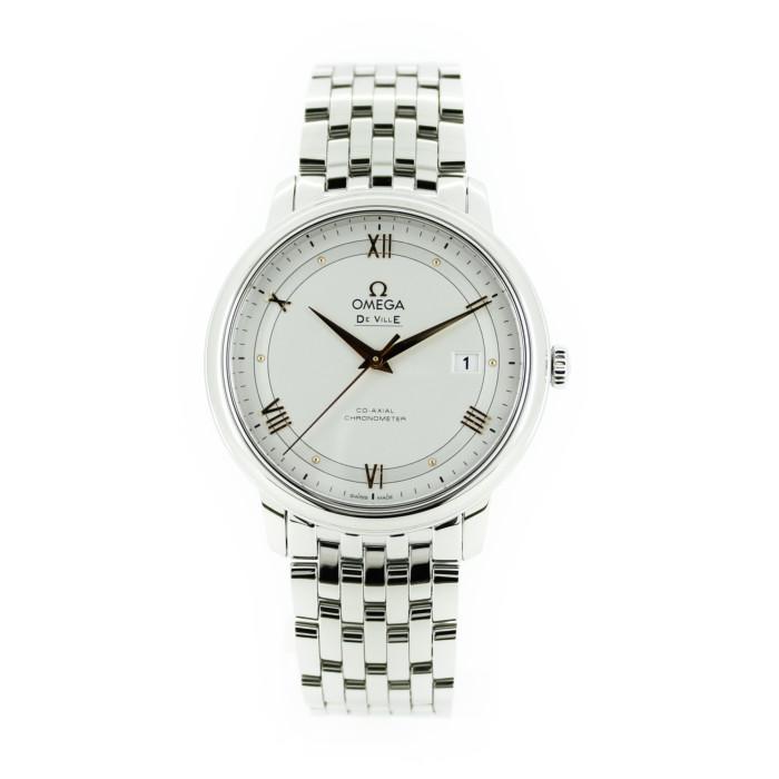 オメガ424.10.40.20.02.002メンズ腕時計デ・ビルOMLOPD