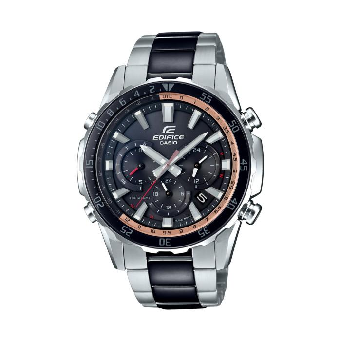 カシオEQW-T670SBK-1AJFメンズ腕時計エディフィス