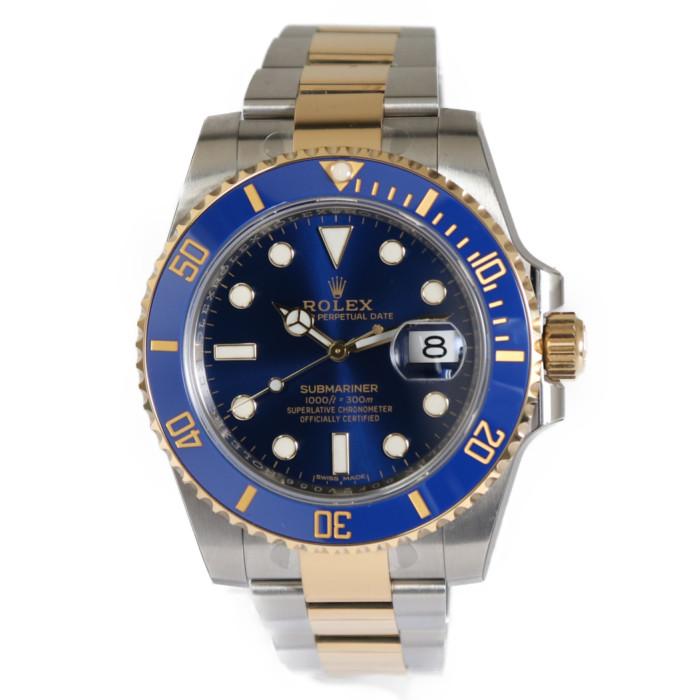 ロレックス116613LBメンズ腕時計サブマリーナデイト