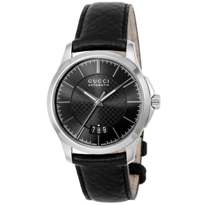 【送料無料!】グッチ YA126430 メンズ腕時計 Gタイムレス