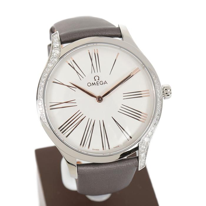 オメガ428.17.39.60.02.001レディース腕時計デビルトレゾア OMLOPD