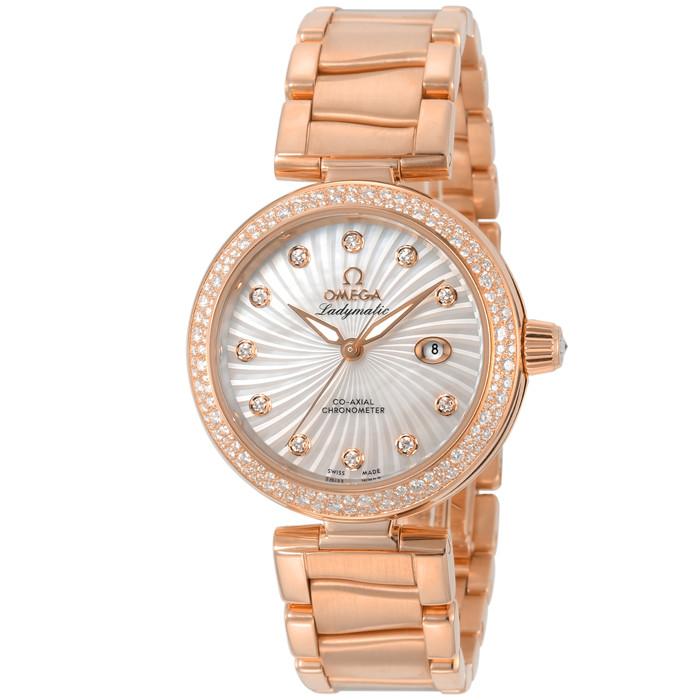 オメガ425.65.34.20.55.001レディース腕時計デ・ビルレディマティック
