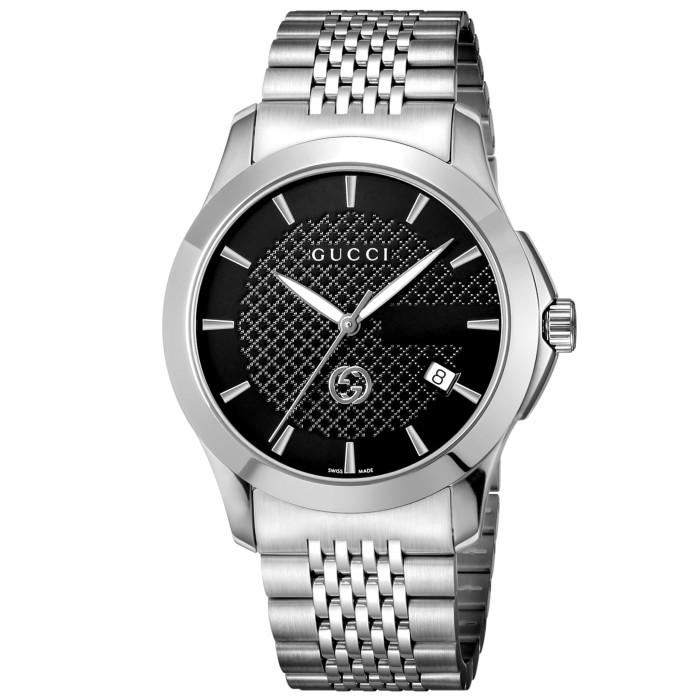 グッチYA1264106メンズ腕時計Gタイムレス