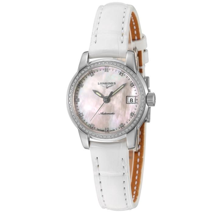 ロンジンL2.263.0.87.2レディース腕時計サンティミエOMLOPD