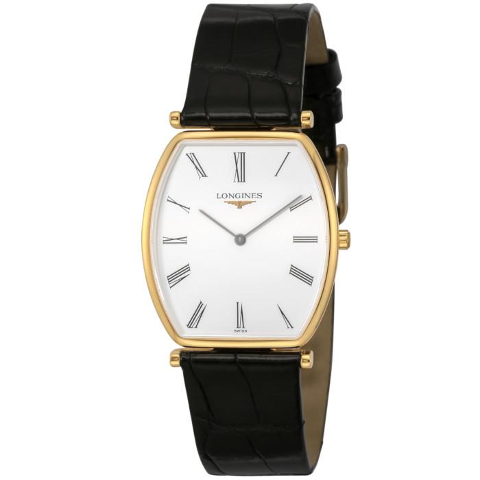 ロンジンL4.705.2.11.2メンズ腕時計グランクラシック