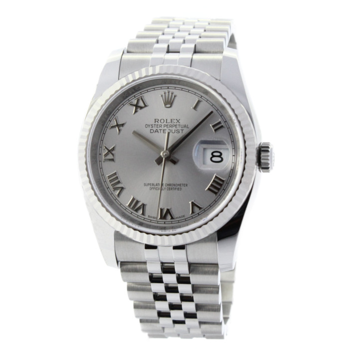 【ヤマト便】【送料無料!】ロレックス 116234 メンズ腕時計 デイトジャスト ROLEX 男性 人気 おしゃれ ホワイト シルバー