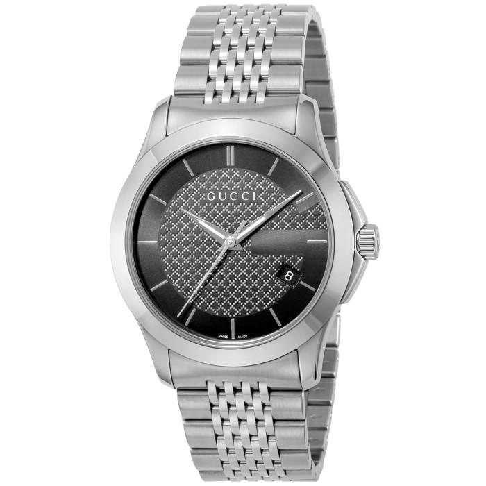 グッチYA126480メンズ腕時計Gタイムレス