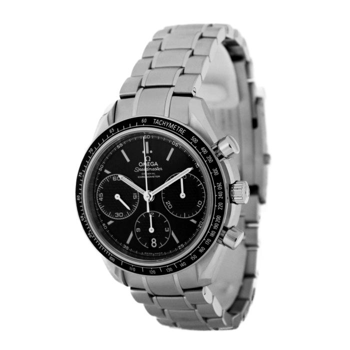 オメガ326.30.40.50.01.001メンズ腕時計スピードマスターレーシングコーアクシャルクロノグラフOMLOPD