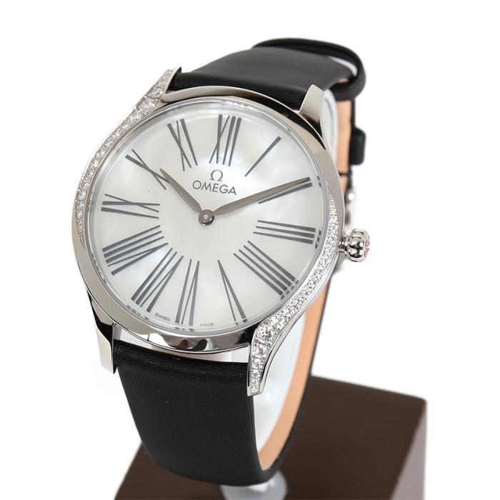オメガ428.17.36.60.05.001レディース腕時計デビルトレゾア OMLOPD