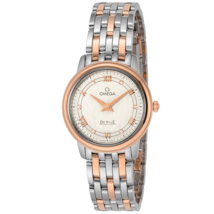 オメガ424.20.27.60.52.003レディース腕時計デ・ウ゛ィルプレステージIMPWATCHOMLOPD
