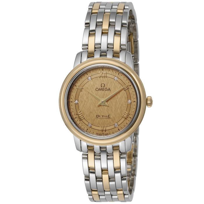 オメガ424.20.27.60.58.004レディース腕時計デ・ウ゛ィルプレステージIMPWATCHOMLOPD