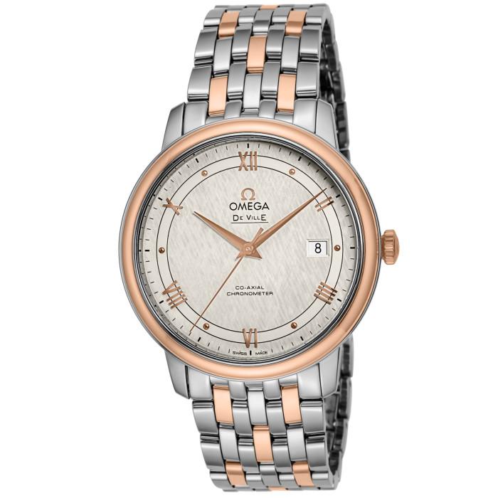 オメガ424.20.40.20.02.003メンズ腕時計デ・ウ゛ィルプレステージ|OMLOPD