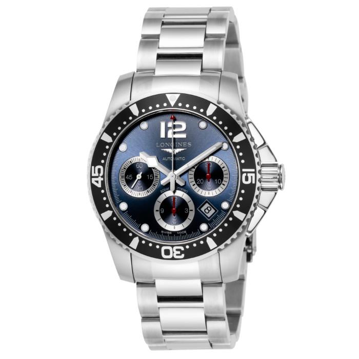 ロンジンL3.744.4.96.6メンズ腕時計ハイドロコンクエスト LonginesHydroConquestL37444966男性人気ウォッチシルバーOMLOPD