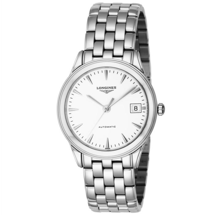 ロンジンL4.774.4.12.6メンズ腕時計フラッグシップ LonginesFlagshipL47744126男性人気ウォッチシルバーホワイトOMLOPD