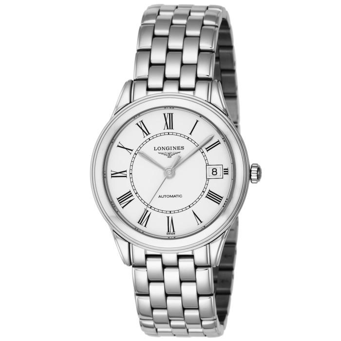 ロンジンL4.774.4.21.6メンズ腕時計フラッグシップ LonginesFlagshipL47744216男性人気ウォッチシルバーホワイトOMLOPD