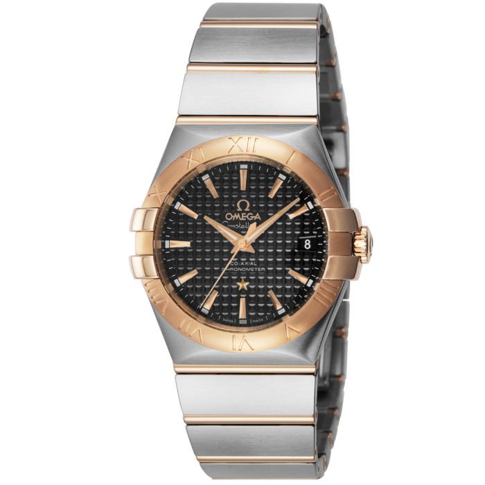 オメガ123.20.35.20.01.001メンズ腕時計コンステレーション OMEGAConstellation男性おしゃれかっこいい高級ブランドレッドゴールドシルバーブラック